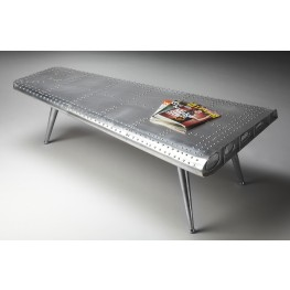 2061025 Industrial Chic Metalworks Cocktail Table