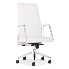 Dean White High Back Office Chair