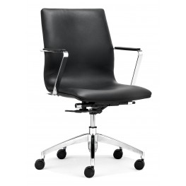 Herald Black Low Back Office Chair