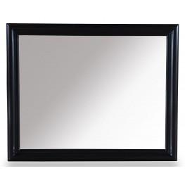 Cosmopolitan Ebony Landscape Mirror