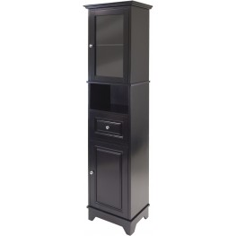 Alps Glass Door Tall Cabinet
