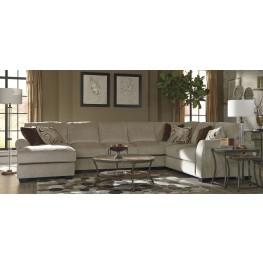 Hazes Fleece LAF Sofa Sectional