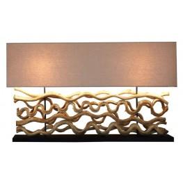 Grande Le Sculpture Corse Linen Lamp