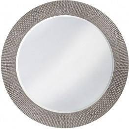 Large Bergman Glossy Nickel Mirror