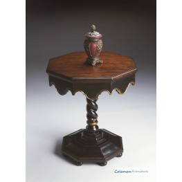 Artists' Originals Cafe Noir Octagonal Accent Table