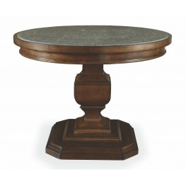 Chateaux Walnut Adjustable Height End Table