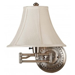 Amherst Bronzed Brass Wall Swing Arm Lamp