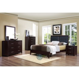 Edina Youth Platform Bedroom Set