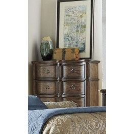 Tuscan Valley Weathered Oak 5 Drawer Chest