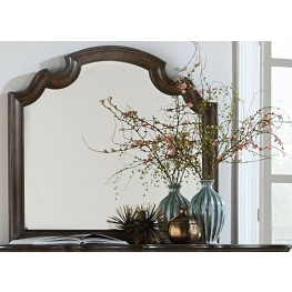 Tuscan Valley Weathered Oak Mirror