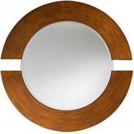 Orbit Burnished Copper Mirror