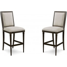 Morrissey Thistle Blake Bar Stool Set of 2