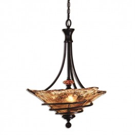 Vitalia 3 Lt Oil Rubbed Bronze Pendant
