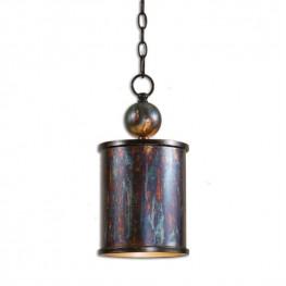 Albiano 1 Light Bronze Mini Pendant