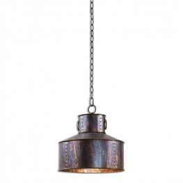 Giaveno 1 Light Oxidized Bronze Pendant