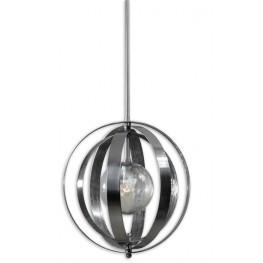 Trofarello Silver 1 Light Pendant