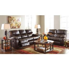 Pranas Brindle Reclining Living Room Set