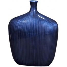 Sleek Cobalt Blue Medium Vase