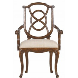 Arrondissement Heirloom Cherry Tuileries Arm Chair