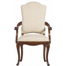Arrondissement Heirloom Cherry Volute Arm Chair