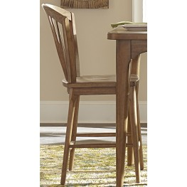 Candler Nutmeg Windsor Counter Chair