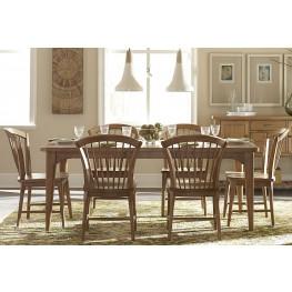 Candler Nutmeg Extendable Dining Room Set