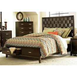 Darien Cal. King Panel Storage Bed
