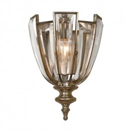 Vicentina 1 Light Crystal Wall Sconce