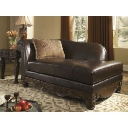 North Shore Dark Brown LAF Corner Chaise