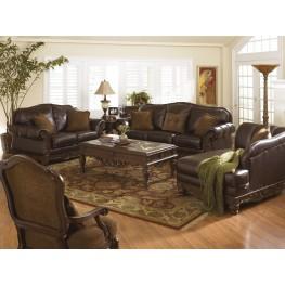North Shore Dark Brown Living Room Set