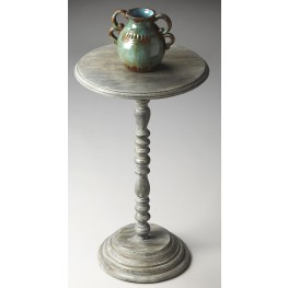 Artifacts Pedestal Accent Table
