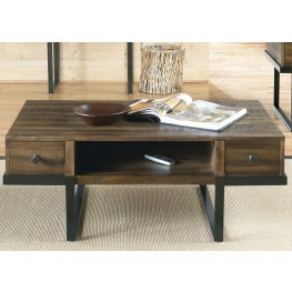Paxton Wire Brushed Bronze Cocktail Table