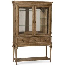 Pavilion Rustic Pine 3 Drawer Bar Cabinet