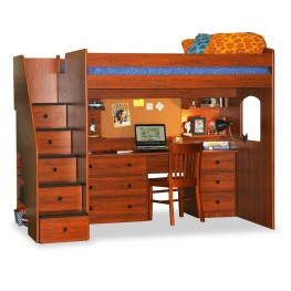 Utica Full Loft Bed