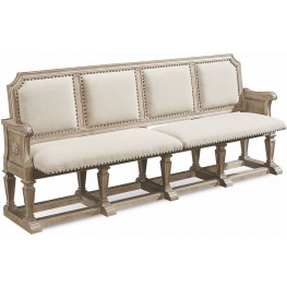 Arch Salvage Parchment Becket Dining Bench