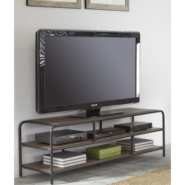 Loft House Weathered Brown Entertainment TV Stand