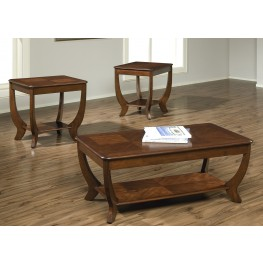 Cherryville 3 Piece Occasional Table Set