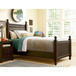 Paula Deen Guys Smartstuff Guy's Low Post Bedroom Set