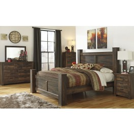 Quinden Poster Bedroom Set