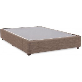 Coco Slate Queen Platform Bedroom Kit and Cover