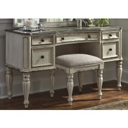 Magnolia Manor Antique Vanity Desk