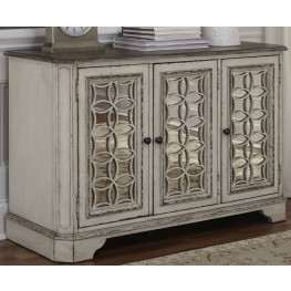 Magnolia Manor Antique White TV Console
