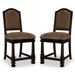 Marbella Noir Counter Stool Set of 2