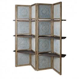 Anakaren Screen With Shelves