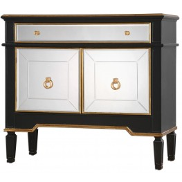 Marciel Mirrored Wine Cabinet