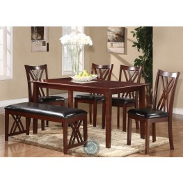 Brooksville 6-Piece Pack Dinette Set