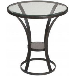 Tomasso Iron Accent Table