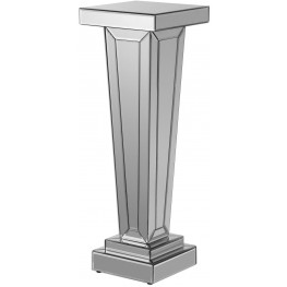 Alanis Gray Mirrored Plant Stand