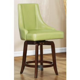 Annabelle Green Counter Height Chair Set of 2