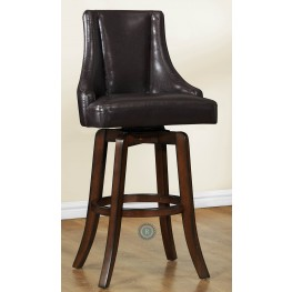 Annabelle Brown Pub Height Chair Set of 2
